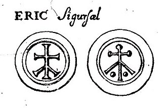 Eric the Victorious - In 1691 coin expert Elias Brenner published designs allegedly used by King Eric, but a minting of coins by Eric is unknown to modern scientists, and these attributions are considered inaccurate; Brenner's methods are not considered reliable on early medieval Swedish coins.