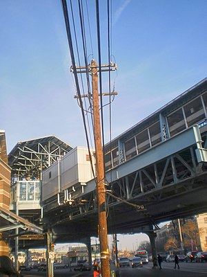 Erie–Torresdale station - The entrance of Erie-Torresdale along Erie and Kensington Avenues.