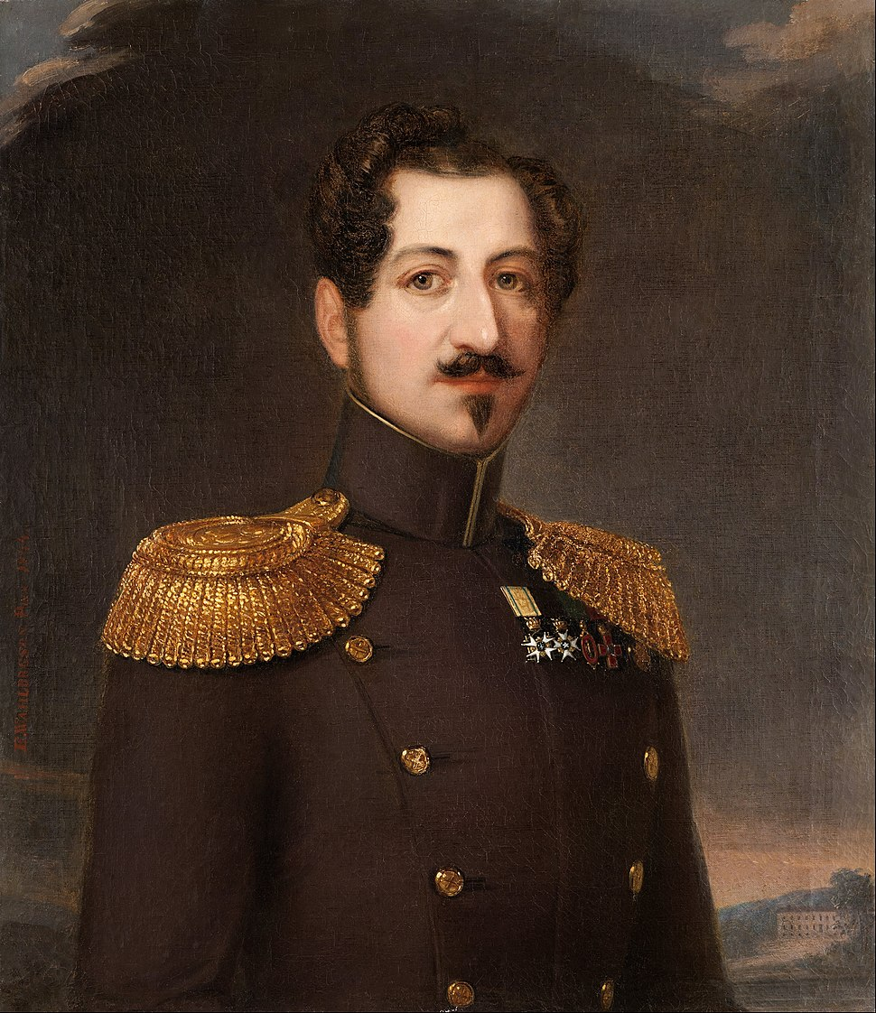Erik (Wahlberg) Wahlbergson - Oscar I, King of Sweden and Norway 1844-1859 - Google Art Project