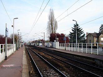 Gare de Cernay - Platforms