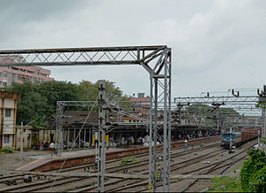 Ernakulam Town railway station - Image: Ernakulam Town North Railway Station DSW