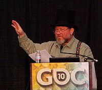 Ernest Adams - Game Developers Conference 2010.jpg