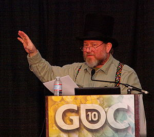International Game Developers Association - Ernest Adams in 2010.