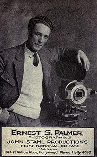 Ernest Palmer (American cinematographer) American cinematographer (1885–1978)