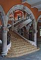 Escalera y Arco Interior del Palacio de Gobierno Aguascalientes Mexico.jpg