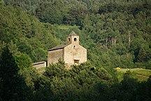 Andorra-Byggekunst, museer og verdensarv-Fil:Església de Sant Cristòfol d'Anyós - 1