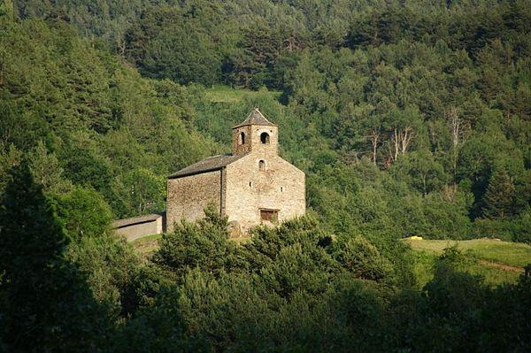 Església de Sant Cristòfol d'Anyós - 1