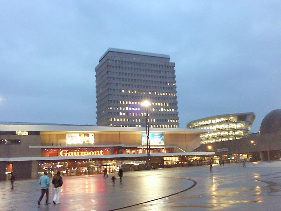Esplanade du Général de Gaulle à Rennes