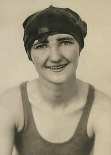 Ethel Lackie American swimmer, Olympic gold medalist, former world record-holder