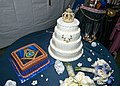 Etoile Polaire Hall New Orleans Harris Brunious Wedding Nov 2016 Cakes.jpg