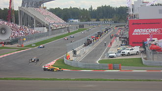 Moscow Raceway - Eurocup Formula Renault 2.0 race at Moscow Raceway in 2012.