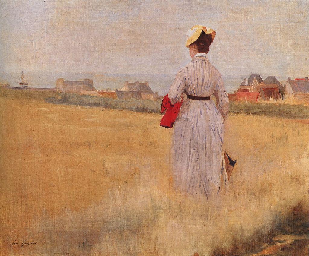 Ева Гонсалес - Dans les blés (Dieppe) .jpg
