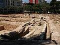 Excavacions arqueològiques als jardins de l'Hospital, València maig 2010.JPG
