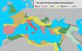 Extent of the Roman Republic and the Roman Empire between 218 BC and 117 AD.png