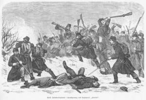 Battle of Sankelmark - Battle of Sankelmark and Oeversee