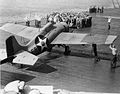 F4F-3 with covered insignias on USS Enterprise (CV-6) 1942.jpg