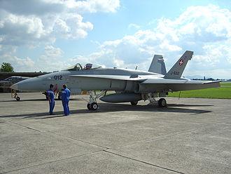 Dübendorf Air Base - F/A-18 «Hornet» at Dübendorf in 2003