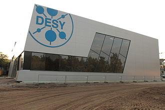 DESY - FLASH II experimental hall at DESY campus in Hamburg.