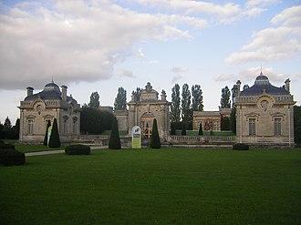 Blérancourt - Chateau