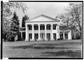 FRONT ELEVATION, SHOWING HEXASTYLE IONIC PORTICO - Rose Hill, Geneva, Ontario County, NY HABS NY,50-GEN.V,1-1.tif