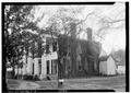 FRONT VIEW + SIDE. - Magnolia Grove, 1002 Hobson Street, Greensboro, Hale County, AL HABS ALA,33-GREBO,1-3.tif