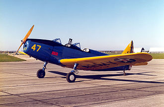Moncton Flight College - A Fairchild Cornell, one of MFC's main training aircraft during the 1950s