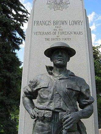 Fairmount Cemetery (Denver, Colorado) - Francis Brown Lowry monument by John Paulding