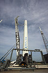 Falcon 9 before WDR on Launch Pad 40.jpg