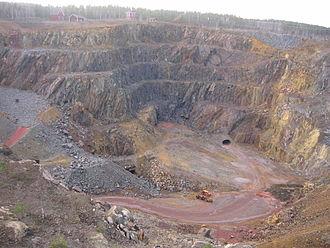 Material criticality - Copper Mine