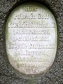 Familiengrab Wilhelm Moufang junior, Bergfriedhof Heidelberg (Abt. D), Grabmal seiner Großeltern Friedrich Stutzmann ∞ Eugenie Stutzmann, geb. Boyssel 0135.JPG