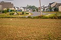Farm land and housing development, Adamstown, Maryland.jpg