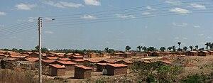 Social issues in Brazil - Favela in Teresina.