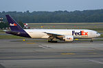 FedEx, N858FD, Boeing 777-FS2 (19686140742).jpg