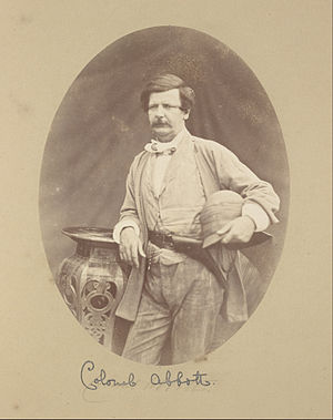 Saunders Alexius Abbott - Photograph by Felice Beato, 1858–1859