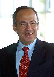Mexico Felipe Calderon,  Presidente del gobierno mexicano