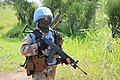 Female combat troops of South African Contingent in MONUSCO on robust foot and moblile patrols 66.jpg