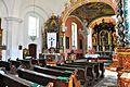 Ferlach Kappel Pfarrkirche Heiliger Zeno Innenraum 10052011 113.jpg