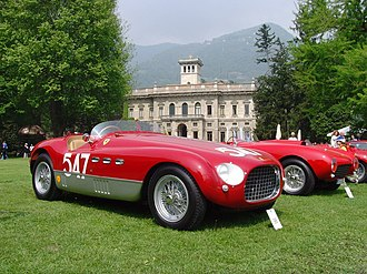 1953 World Sportscar Championship - Ferrari won the championship with its 340 MM (pictured) and 375 MM models