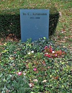 H. C. Artmann Austrian poet