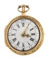 Fickur med boett av guld och urtavla i emalj, 1700-tal - Hallwylska museet - 110431.tif