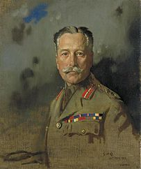 Field-marshal Sir Douglas Haig, Kt, Gcb, Gcvo, Kcie, Commander-in-chief, France, From December 15th 1915. Painted at General Headquarters, May 30th 1917 Art.IWMART324.jpg