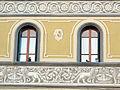 Figline, piazza ficino, palazzo con stemma forse incontri.JPG