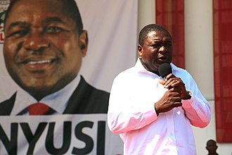 Mozambique - Incumbent President Filipe Nyusi.