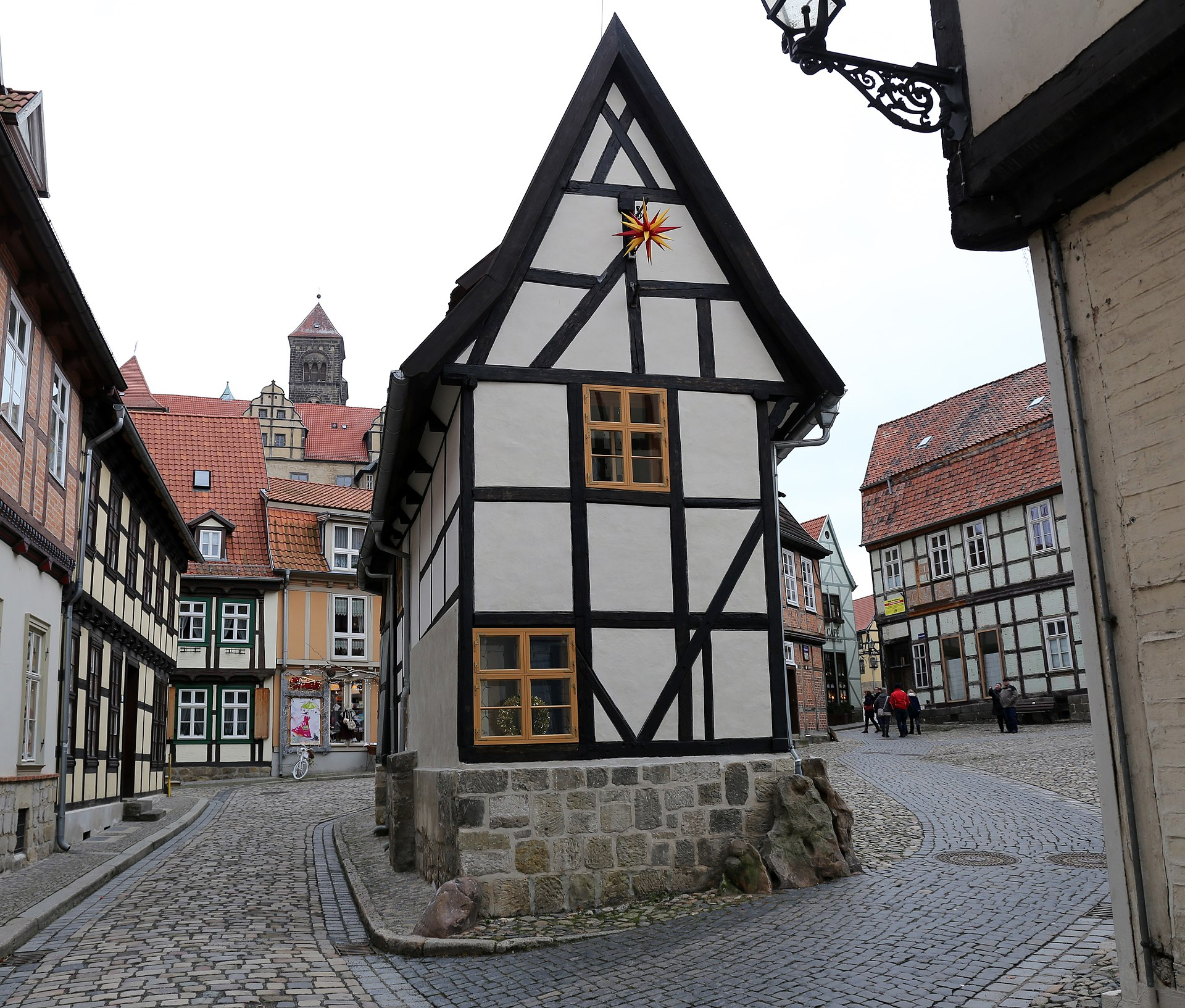 Finkenherd 1 quedlinburg wikipedia for Fachwerk wikipedia