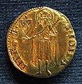 Firenze, fiorino d'oro largo, 1450 II semestre, stemma canigiani.JPG