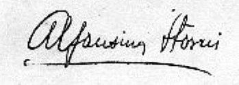 Firma Alfonsina Storni