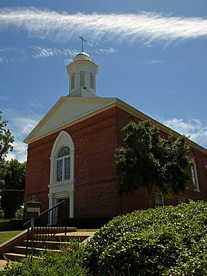 First Baptist Church of Wetumpka - Image: First Baptist Wetumpka Sept 10 03