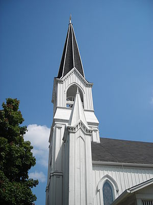 DuPage County, Illinois - The First Church of Lombard is listed on the National Register of Historic Places.