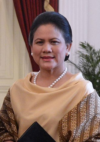 First Lady and First Gentleman of Indonesia - Image: First Lady Iriana