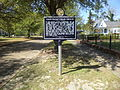 First Presbyterian Church historical marker, Eufaula.JPG
